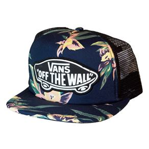 Kšiltovka Vans Beach Girl Trucker - Fall Tropical