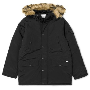 Bunda Carhartt WIP Anchorage Parka - Black/Black