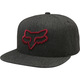 Kšiltovka Fox Instill Snapback - Heather BlackInstill Snap Hat