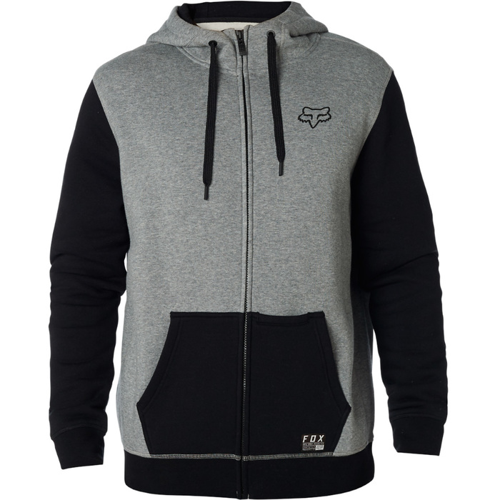 Mikina Fox Win Mod Fleece Zip - Heather GraphiteWin Mob Zip Fleece