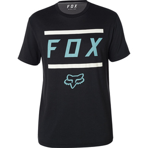 Tričko Fox Listless Airline SS Tee - Black/Grey