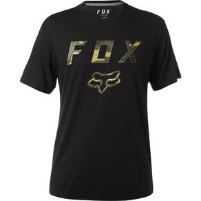 Tričko Fox Cyanide Squad SS Tech Tee - Black