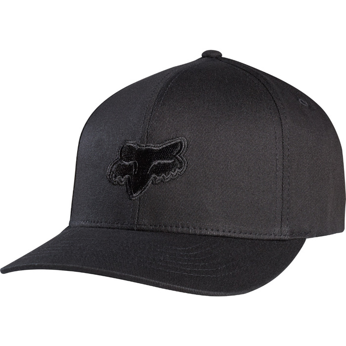 Kšiltovka Fox Legacy Flexfit - Black/BlackLegacy Flexfit Hat black