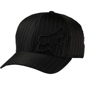 Kšiltovka Fox Flex 45 Flexfit - Black Pinstripe