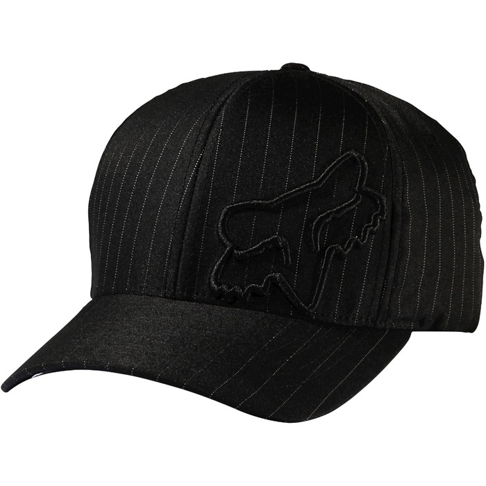 Kšiltovka Fox Flex 45 Flexfit - Black PinstripeFlex 45 Flexfit Hat Stripe