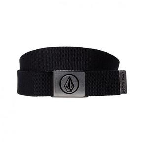 Pásek Volcom Circle Web Belt - Black