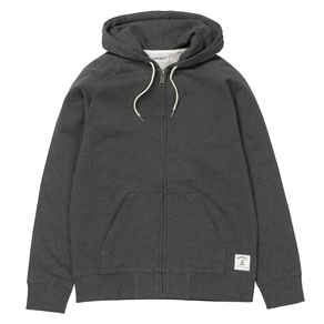 Mikina Carhartt WIP Hooded Holbrook LT Jacket - Black Heather