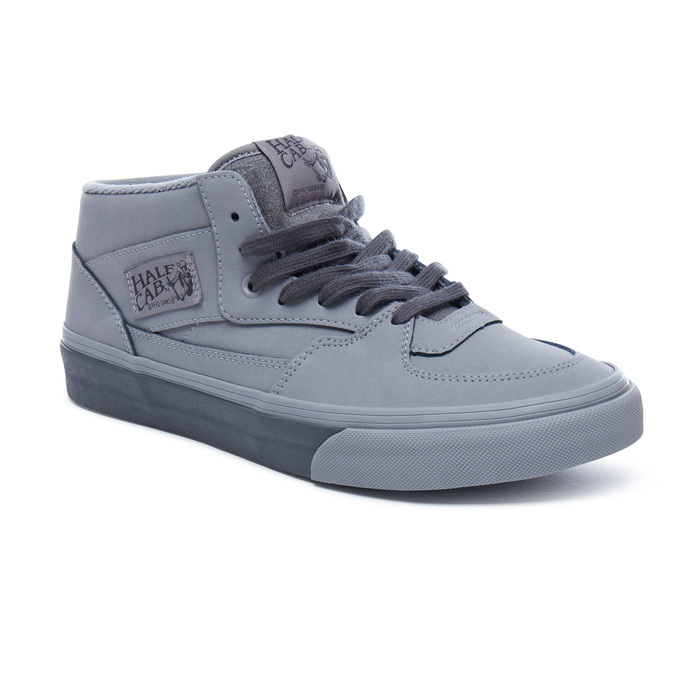 Boty Vans Half Cab (Mono Buck) - Frost Gray/AsHalf Cab Frost gray/as