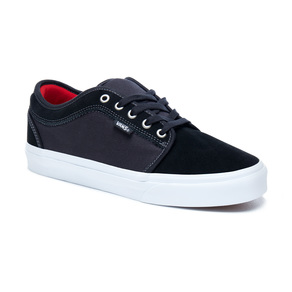Boty Vans Chukka low - Black/White/Chilli pepper