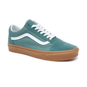 Boty Vans Old Skool - Duck Green/Gum