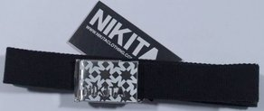 Pásek Nikita Tomato Rose Belt - Black