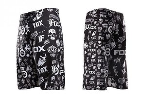 Plavky Fox Revolver Boardshort - Black