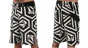Plavky Volcom Stone Ya Later Mod 22 Boardshort - Black