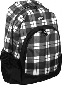 Batoh Vans Van Doren Backpack - Plaid Black/White