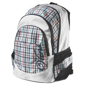Batoh Vans Rad and Plaid Backpack - White