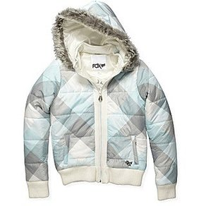 Bunda Fox Gold Mine Jacket - Ice Blue