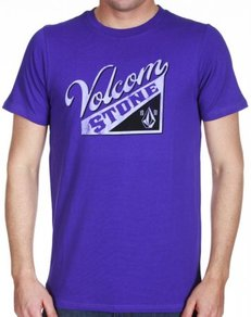 Tričko Volcom Embrace Ball - Purple