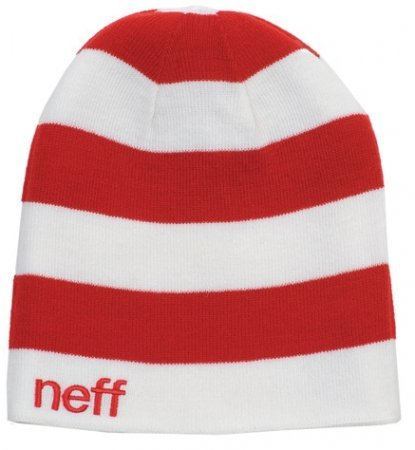 Kulich Neff Reversible Beanie - White/Red