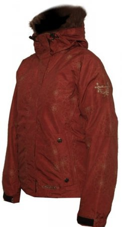 Bunda Exil Atom Jacket - Anema - Red
