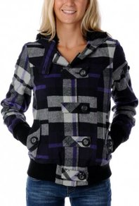 Bunda Fox Girls Bossa Nova Jacket - Dark Purple