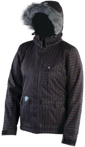 Bunda Meatfly Crystal Jacket - Black Haze - E