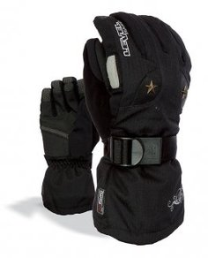 Snowboardové Rukavice Level W Star Gloves - Black