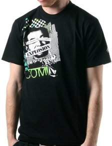 Tričko Volcom Choice of Consumption - Black