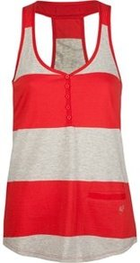 Tílko Fox Luxury Henley Tank - Rio Red