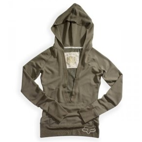 Mikina Fox Girls Mission Hoody - Dark Sage