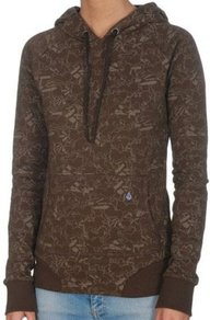 Mikina Volcom Circ De So Lion Hoody - Brown