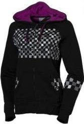 Mikina Volcom Checker Wrecker Zip Hoody - Black