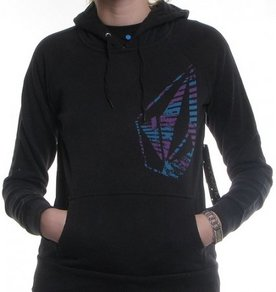 Mikina Volcom Fragments Hoody - Black