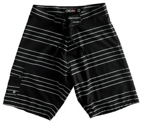 Plavky Circa Staple Boardshort - Black