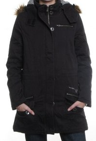 Kabát Volcom Frochikie Jacket - Black