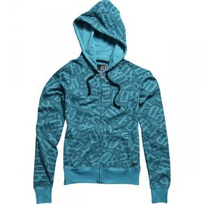 Mikina Fox Girls Shockwave Foxy Zip Hoody - Aqua