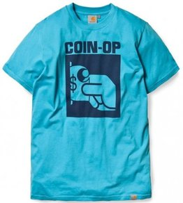 Tričko Carhartt WIP Coin-Op S/S T-Shirt - Holiday/Navy