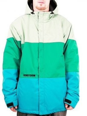 Bunda Funstorm Tiren II Jacket - 08 Tm. Zelená - JMO-02301 - D. Green