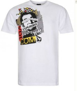 Tričko Volcom Choice of Consumption - White