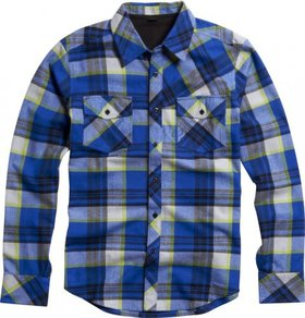Košile Fox Decker Flannel - Tech Blue