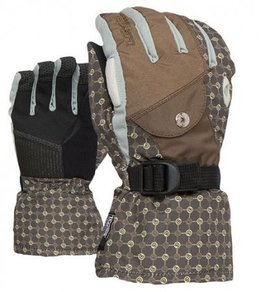 Snowboardové Rukavice Level W Matrix Gloves - Brown
