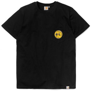 Tričko Carhartt WIP S/S Division Pocket T-Shirt - Black/Multicolor