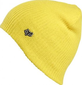 Kulich Fox Collision Beanie - Day Glo Yellow