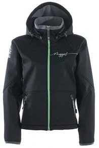 Bunda Nugget Orca Softshell Jacket - Black