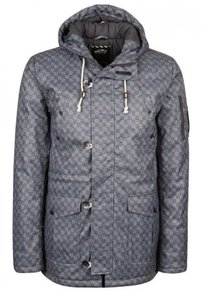 Bunda Vans Talavera Jacket - Charcoal Checkers