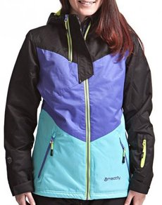 Bunda Meatfly Solar Jacket - Black/Purple/Blue - C
