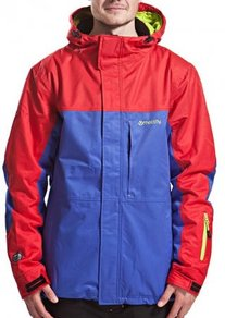 Bunda Meatfly Jupiter Jacket - Red/Navy - C