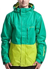 Bunda Meatfly Jupiter Jacket - Mint/Lime - D
