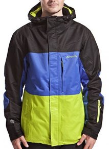 Bunda Meatfly Jupiter Jacket - Black/Navy/Lime - B