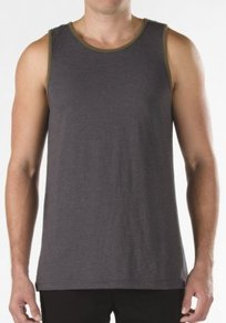 Tílko Vans Core Basics Tank - Chracoal Heather/Olive Nights
