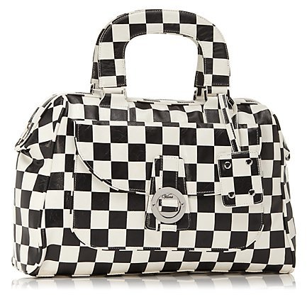 Kabelka Vans Check Hers Bag - Black/White Checkers